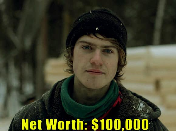 Image of The Last Alaskan cast Charlie Jagow's net worth is $100,000