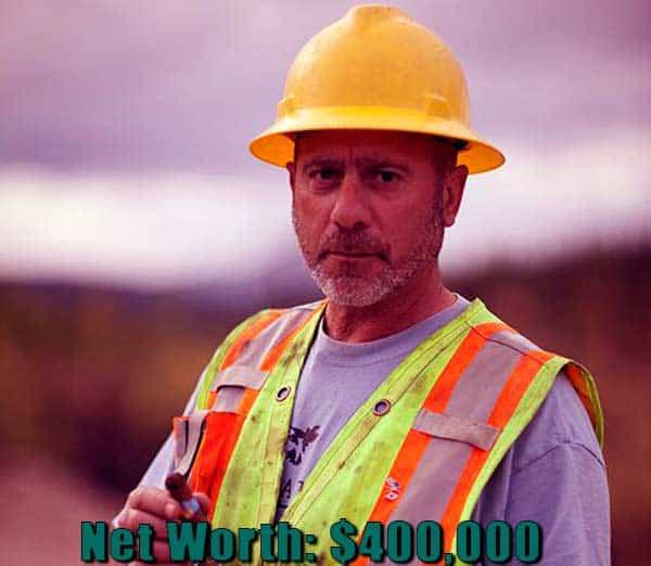 Image of Gold Rush cast Chris Doummitt net worth is $400,000
