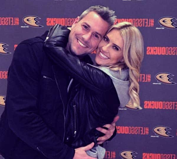 Image of Christina El Moussa with her new husband Ant Anstead.