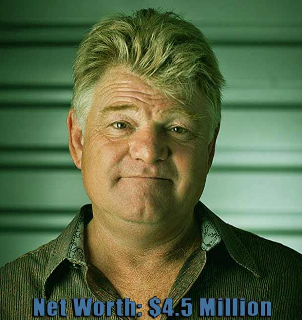 Image of Storage Wars cast Dan Dotson net worth is $4.5 million
