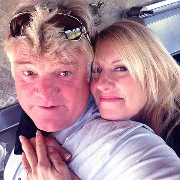 Image of Dan Dotson with his wife Laura Dotson