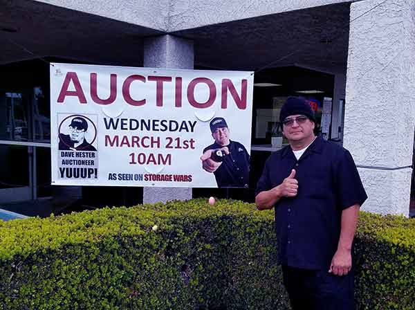 Image of Dave Hester from Storage Wars show