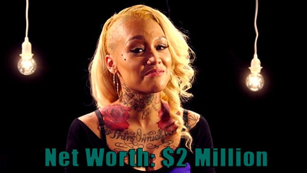 Image of Black Ink Crew cast Donna net worth is $2 million