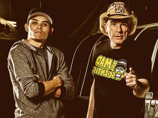 Image of Farmtruck with his partner AZN