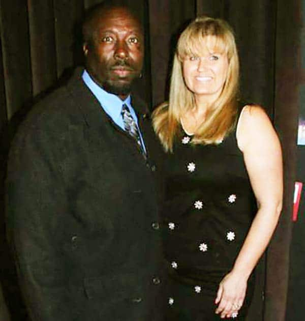 Image of Ivy Calvin with his wife Wendy Calvin