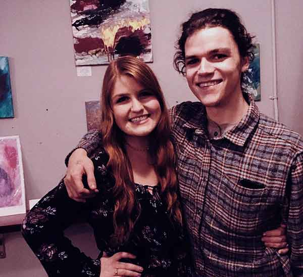 Image of Jacob Roloff with his girlfriend Isabel Rock.