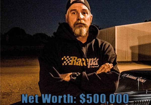 Image of Street Outlaws cast Jerry Johnston net worth is $500,000