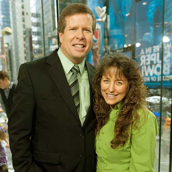 Image of Jim Bob Dugger with his wife Michelle Duggar.