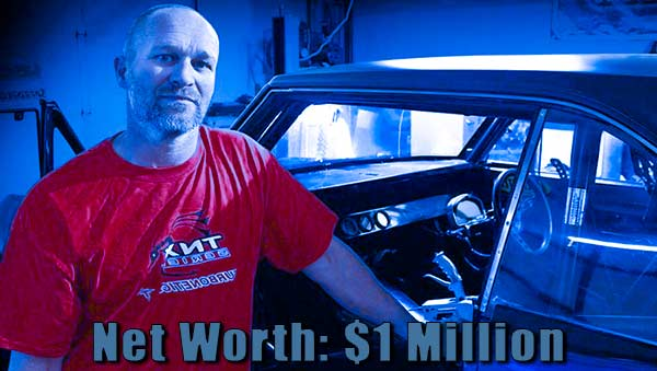 Image of Street Outlaws cast Joe Woods net worth is $1 million