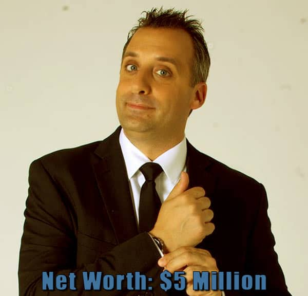 Image of Impractical Jokers cast Joe Gatto net worth is $5 million