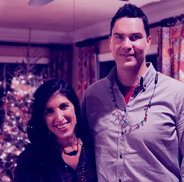 Image of Ken Corsini with his wife Anita Corsini
