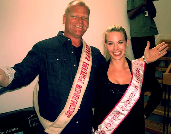 Image of Mike Holmes with his ex-wife Alexandra Lorex.