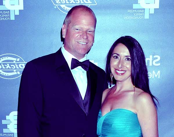 Image of Mike Holmes with his girlfriend Anna