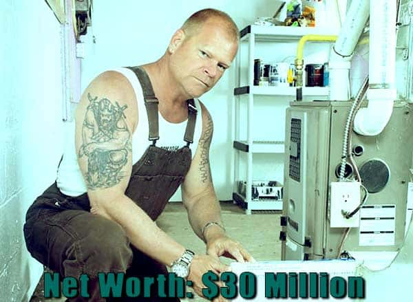 Image of TV Personality, Mike Holmes net worth is $30 million