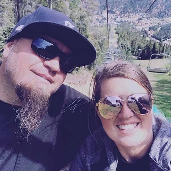 Image of Murder Nova with his wife Erin Ellington