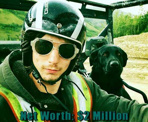 Image of Gold Rush cast Parker Schnabel net worth is $2 million