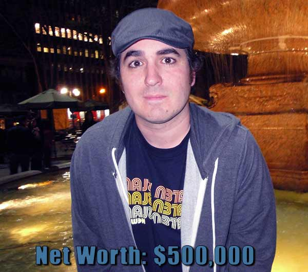 Image of Impractical Jokers cast Quinn net worth is $500,000
