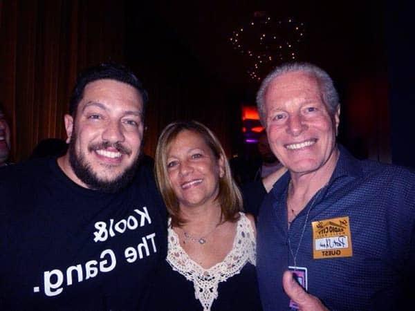 Image of Sal Vulcano with his parents at Radio City