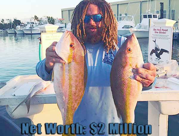 Image of Wicked Tuna cast TJ Ott net worth is $2 million
