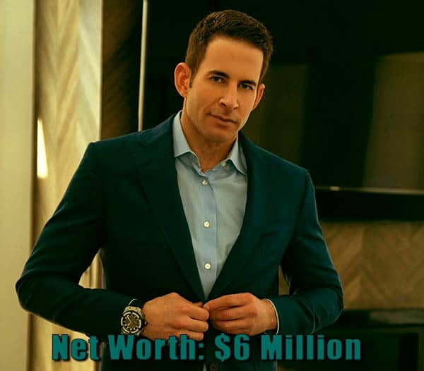 Image of TV Personality, Tarek El Moussa net worth is $6 million