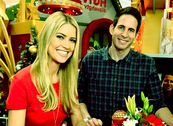 Image of Tarek El Moussa with his wife Christina El Moussa