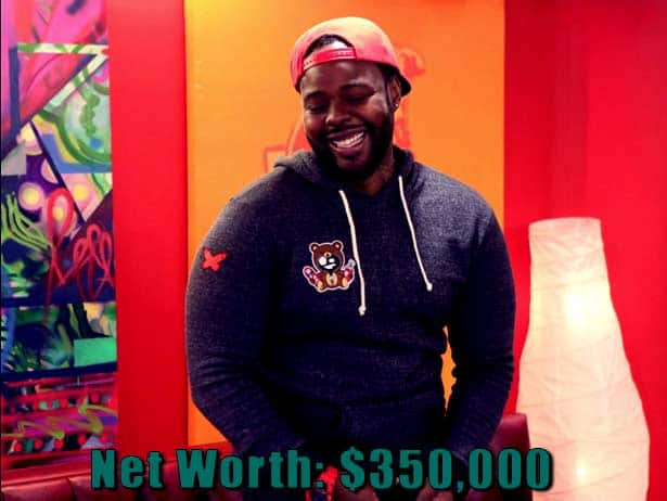 Image of Black Ink Crew cast Teddy Ruk's net worth is $350,000