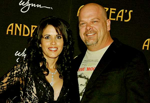 Image of Deanna Burditt with her husband Rick Harrison