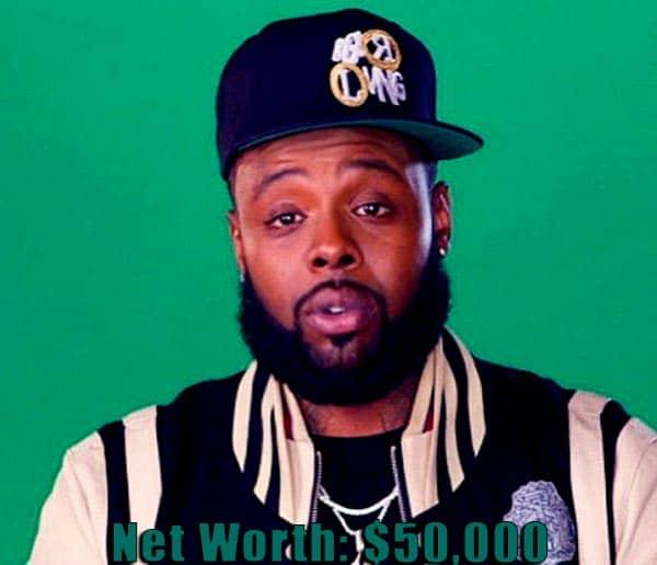 Image of Black Ink Crew cast Teddy net worth is $50,000