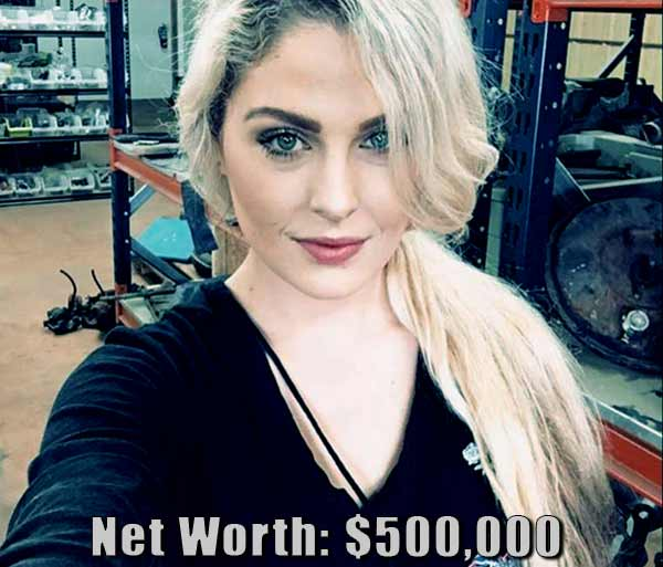 Image of Graveyard Carz cast Allysa Rose net worth is $500,000