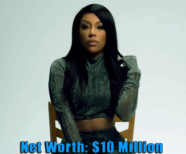 Image of American Singer, K Michelle net worth is $10 million