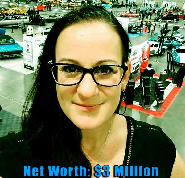 Image of Auto Mechanic, Sarah Lateiner net worth is $3 million