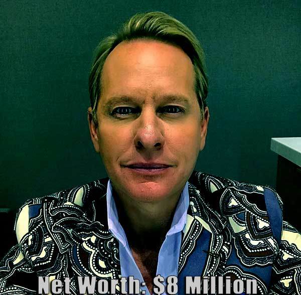 Image of American TV personality, Carson Kressley net worth is $8 million