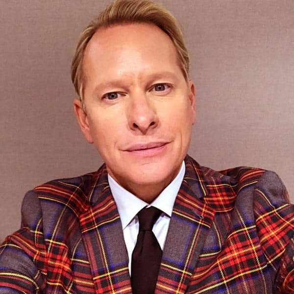 Image of Carson Kressley from the TV show, Queer Eye