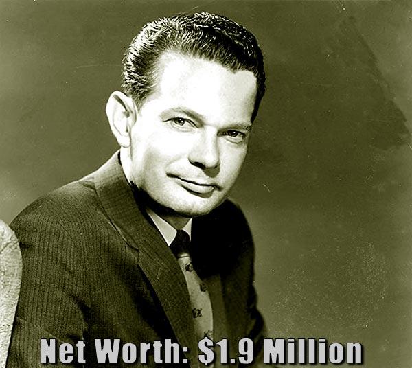 Image of TV Journalist, David Brinkley net worth is $1.9 million
