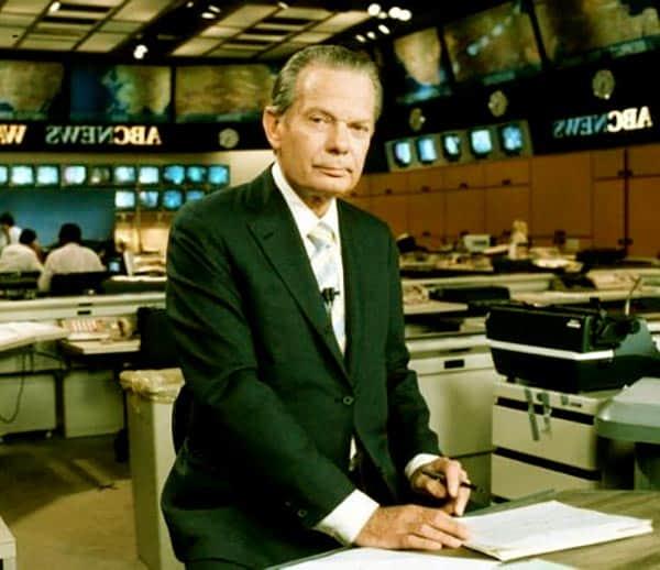 Image of American newscaster, David Brinkley