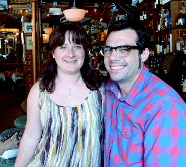 Image of Aaron Franklin with his wife Stacy Franklin.