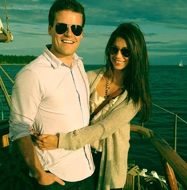 Image of Adam Wylde with his wife Caprice Conners