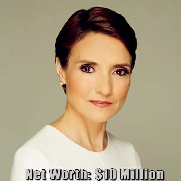 Image of Journalist, Catherine Herridge net worth is $10 million