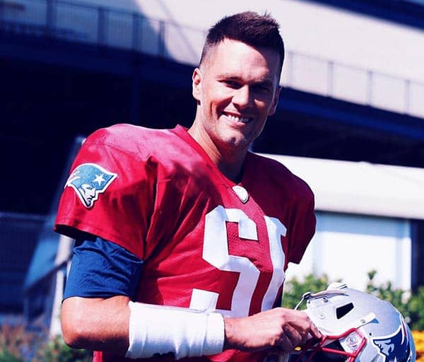 Image of American football quarterback, Tom Brady