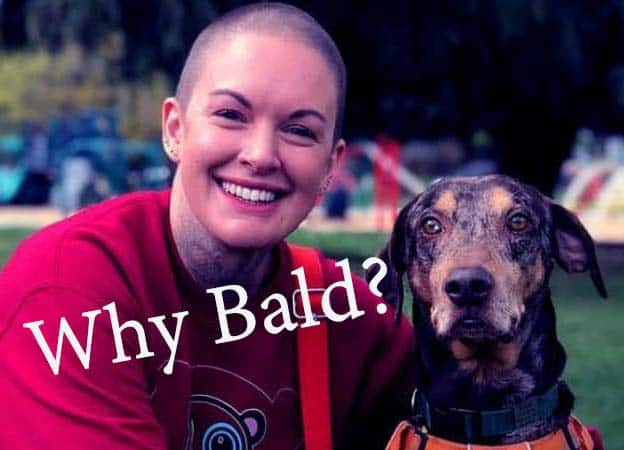 Why is amanda to the rescue bald?