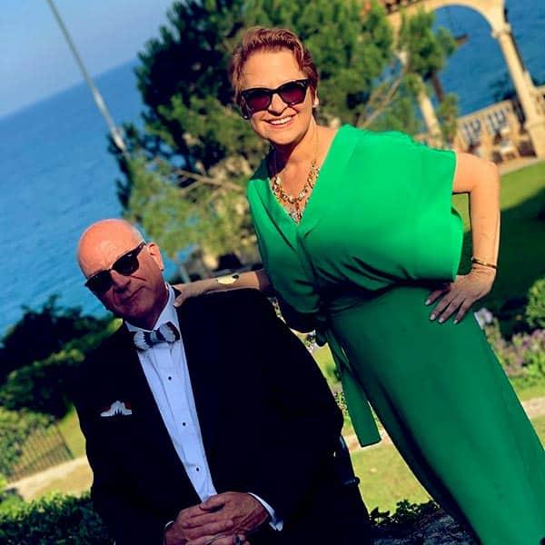 Image of Caroline Manzo with her husband Albert Manzo III