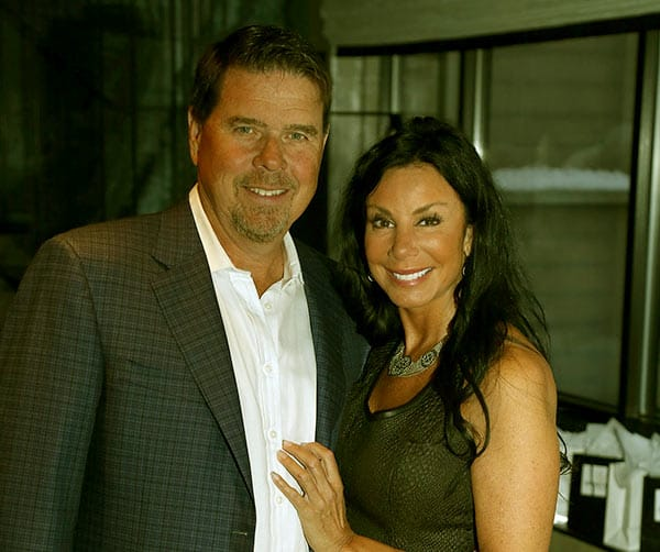 Image of Danielle Staub with her ex-husband Marty Caffrey