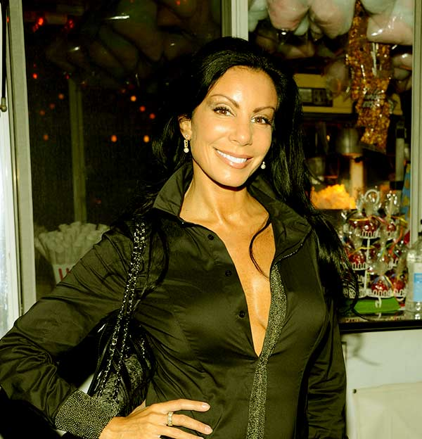 Image of Danielle Staub from the TV reality show, The Real Housewives of New Jersey