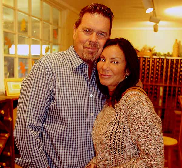 Image of Marty Caffrey with his ex-wife Danielle Staub