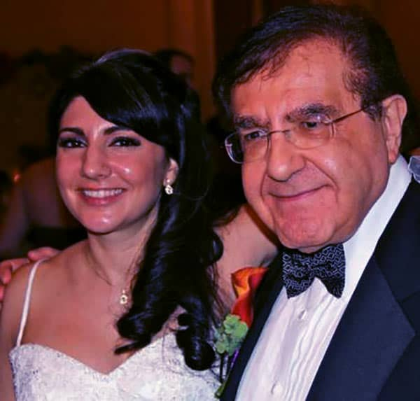 Image of Dr. Nowzaradan with his daughter Jennifer Nowzaradan