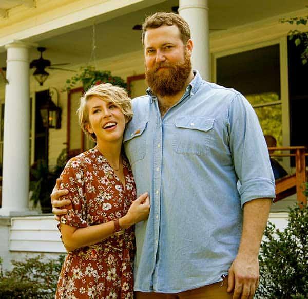 Image of Ben Napier with his wife Erin Napier