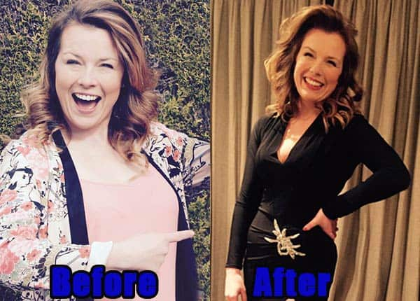 Image of Auctioneer, Christina Trevanion weight loss before and after