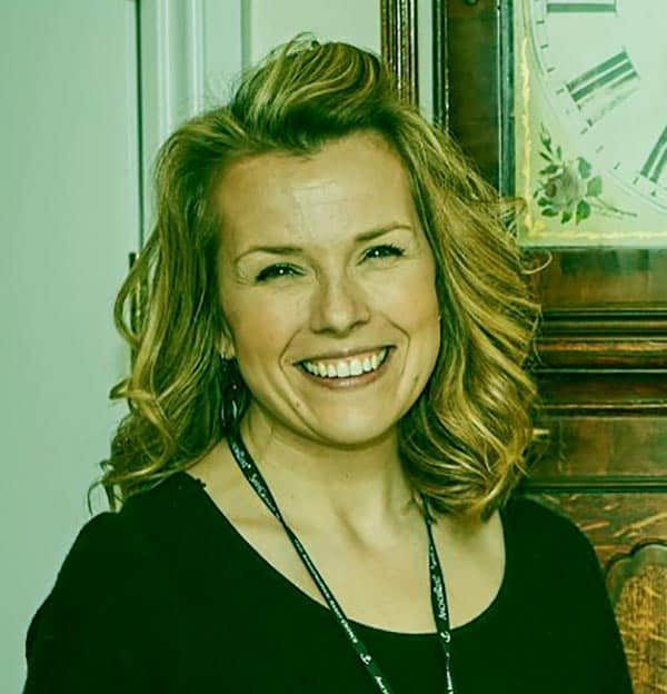 Image of British auctioneer, Christina Trevanion