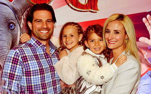 Image of Scott McGillivray with his wife Sabrina McGillivray along with their kids