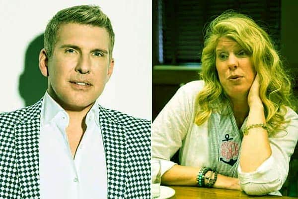 Image of Teresa Terry and her ex-husband Todd Chrisley